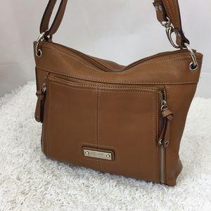 Tignanello Handbag Shoulder Bag Brown